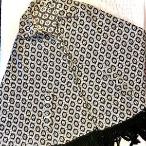 Vintage Knit Cotton Cape
